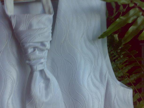 krawat musznik +kamizelka do ślubu xl