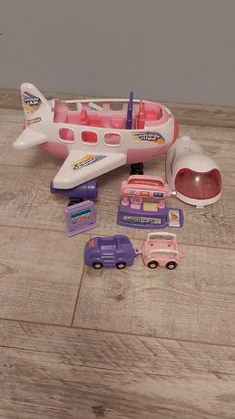 Samolot dla lalek lotnisko