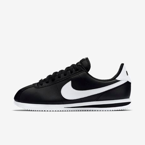 Nike Cortez. Rozmiar 42. kolor Czarne z białym. NAJTANIEJ!