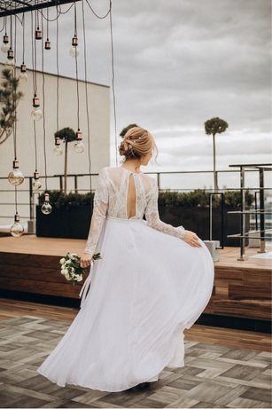 Свадебное платье р 46-48 в европейском стиле британский бренд Asos