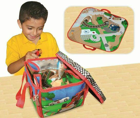 Игровой набор новый с машинками детский