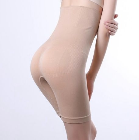 Modelująca bielizna wyszczuplająca, cieliste, moda damska, efekt wow