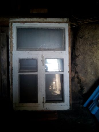 Окна деревянные в сборе