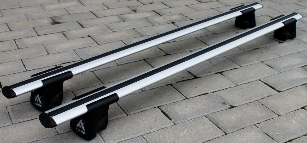 Bagażnik na reling belki Aguri Runner Porsche Macan SUV 2014+