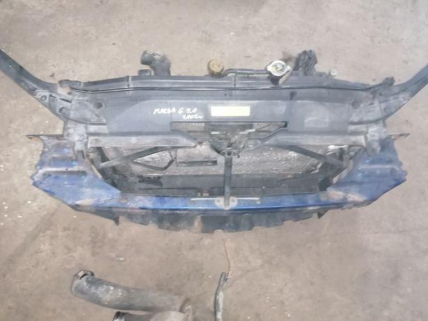 Chłodnica intercooler pas przedni Mazda 6 2.0