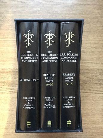 Tolkien Companion and Guide: 3 vol (2017) \ Толкин справочник читателя