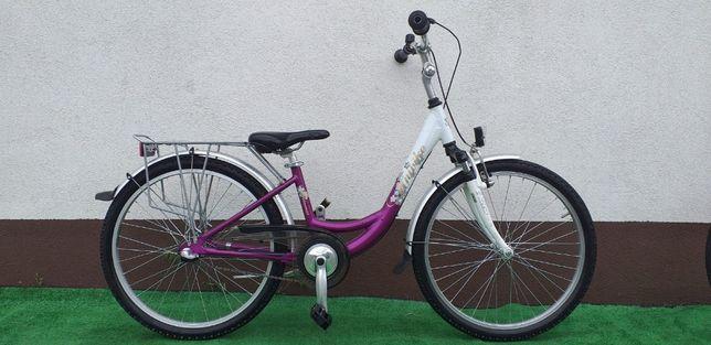 """Unibike Rower Młodzieżowy 24""""Alu Biegi Sklep Raty"""