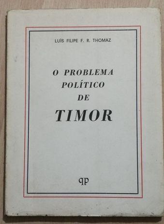 o problema político de timor, luís filipe thomaz