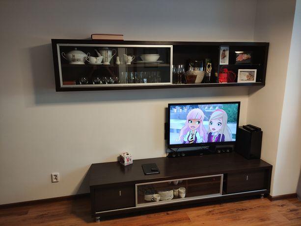 Zestaw mebli do salonu wisząca 238x50 szafka rtv pod telewizor 210x55
