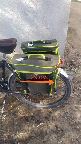 Велосумка на багажник.