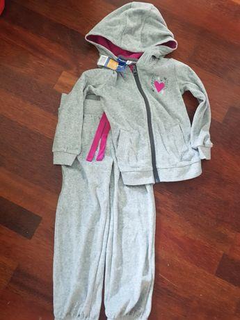 Nowy dres dziewczęcy Lupilu, 98-104
