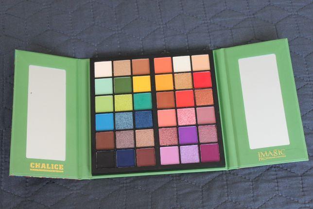 Пигментированная палетка профессиональных теней IMAGIC, 36 цветов