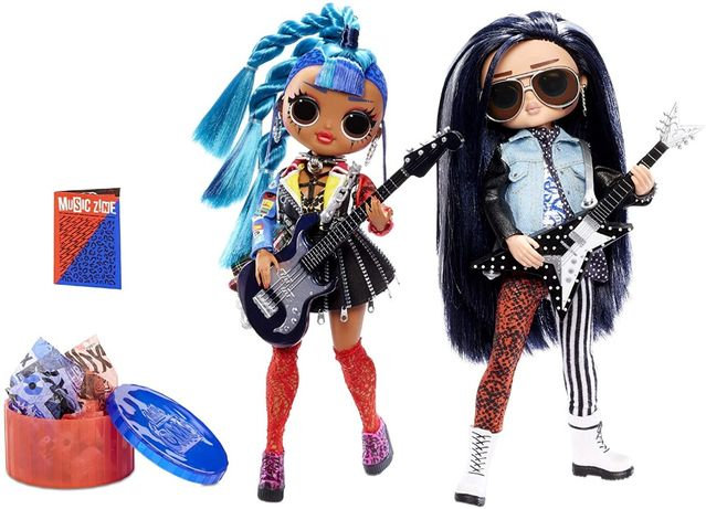 Набор куклы ЛОЛ Дуэт с мальчиком L.O.L. Surprise! O.M.G. Remix Rocker