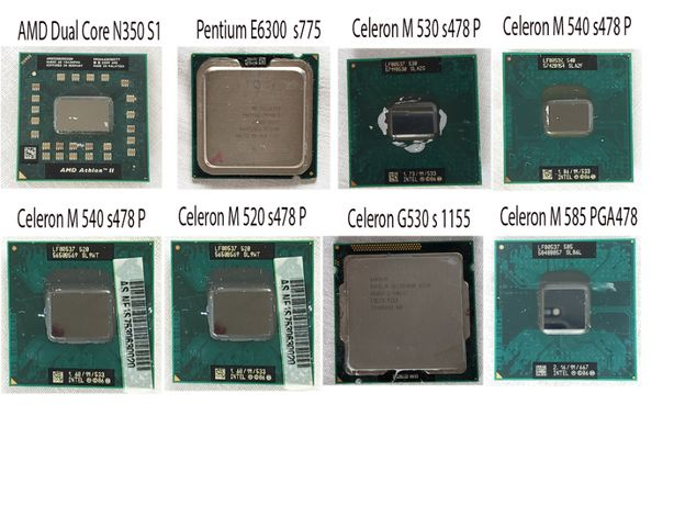 процессор для ноутбука AMD 530 900 S1 Dual Core N350 ПК 775
