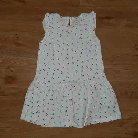 Sukienka 86-92 cm C&A Baby Club jak nowa na lato
