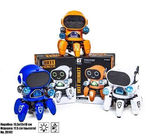Робот PIONEER -танцующий