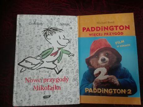 Książki dla dzieci Mikołajek Paddington