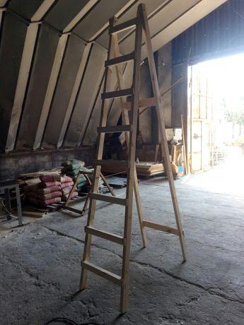 Стремянка деревянная 3 м