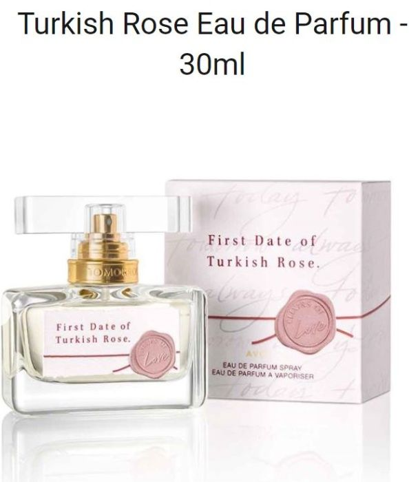 TTA First Date of Turkish Rose Avon NOWOŚĆ katalogu 12 Robakowo - image 1
