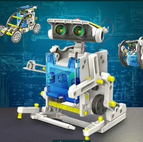Новинка!Робот-конструктор SOLAR ROBOT на солнечных батарейках