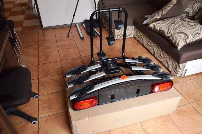 Aguri Active NOWY Bagażnik platforma uchwyt na hak na 4 rowery uchylny