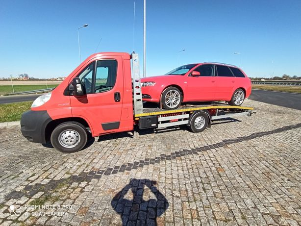 Usługi transportowe Autolawetą