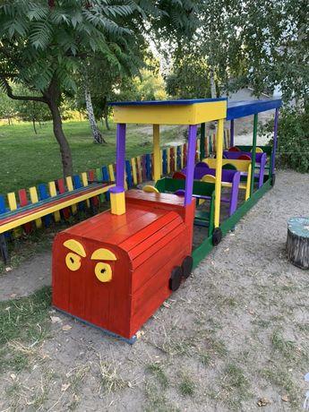 Потяг ( поїзд ) дитячий декоративний