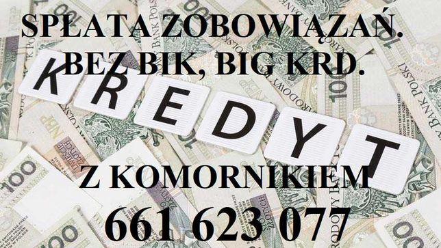 Kredyt/kredyty bez BIK/BAZ. Pożyczki gotówkowe. Konsolidacja chwilówek