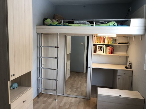 łóżko piętrowe+meble
