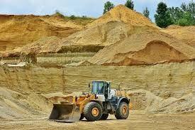 Piasek zasypowy do fundamentów, budowlany, siany