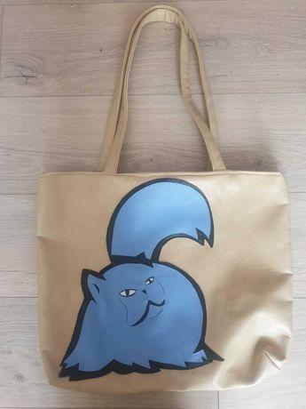Beżowa nowa torba