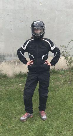 Strój motocyklowy damski