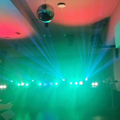 Som e luz para todo o tipo festas