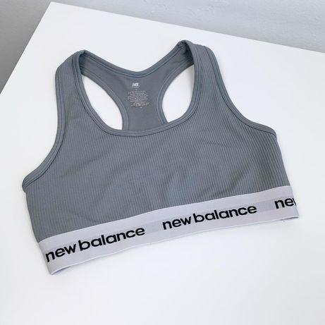Спортивный топ New Balance original M с чашками идеал женский