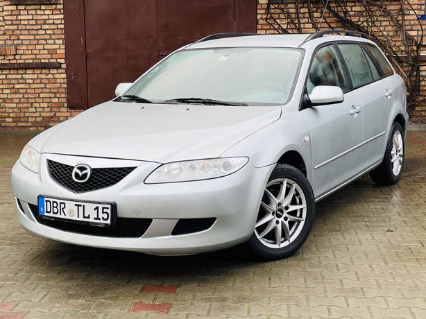 Mazda 6 2.0 ! Alufelgi_Climatron_Tempomat_Webasto ! 1-właściciel IDEAŁ