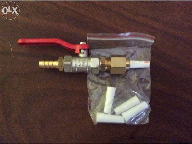 Pistola de decapagem a jato de areia e kit de 4 bocais