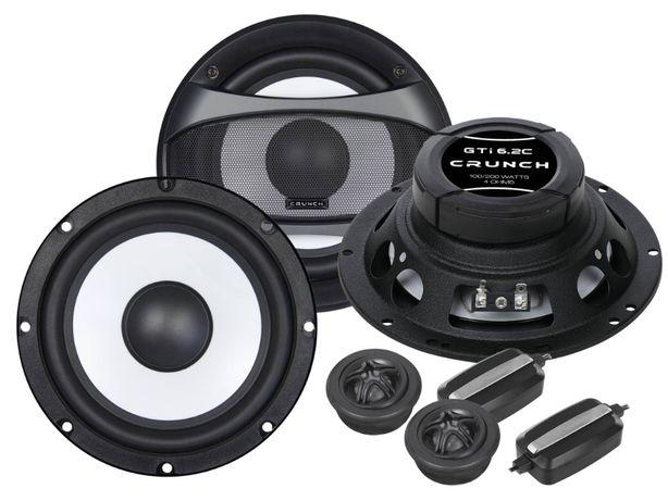 Głośniki Crunch GTI6.2WT 16,5cm mocny niski ton Bas Audio Skrzyszów Śl
