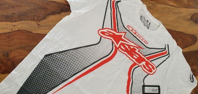 Koszulka męska - ALPINESTARS - XL - nowa