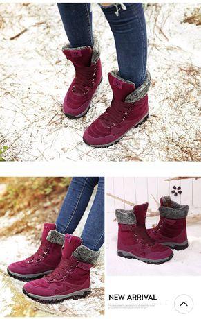 Зимові утепленні черевики, зимові кросівки