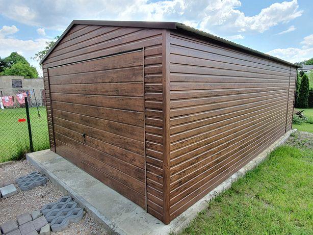 Garaż Blaszany 4x6 Wzmocniony Garaże blaszane Producent Garaży !!!