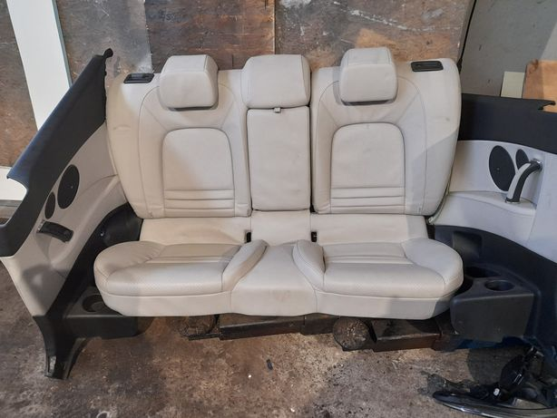 Wnetrze tapicerka fotele Peugeot 407 Coupe Europa