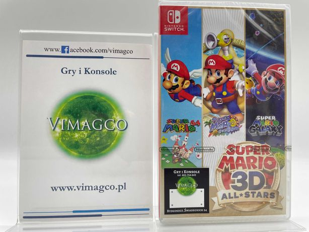 Super Mario 3D All Stars Nintendo Switch Sklep Vimagco GiK PROMOCJA