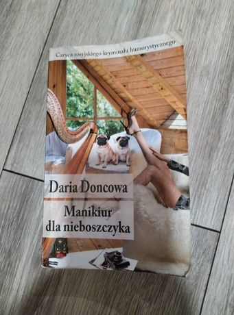 Książka ,,Manikiur dla nieboszczyka,, Daria Doncowa
