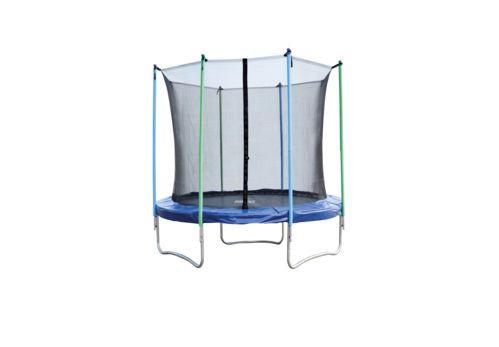 Trampolina ogrodowa+ siatka bezpieczeństwa 8 FT 2,44cm
