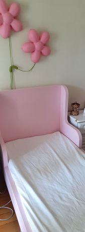 Cama rosa criança/adolescente