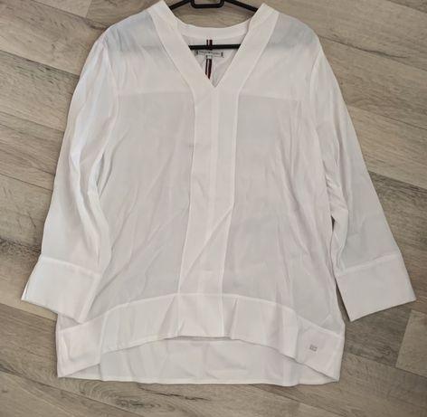 Tommy hilfiger koszula biala klasyka la mania m