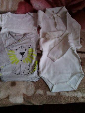 Ubranka niemowlęce rozm. 56, 62