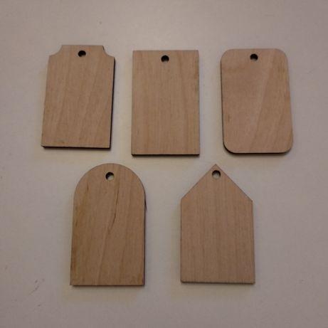 Деревянные бирки с гравировкой. Размер и форма под заказ