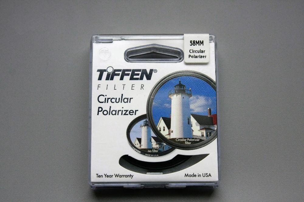 Filtr polaryzujący Tiffen 58mm Jelenia Góra - image 1