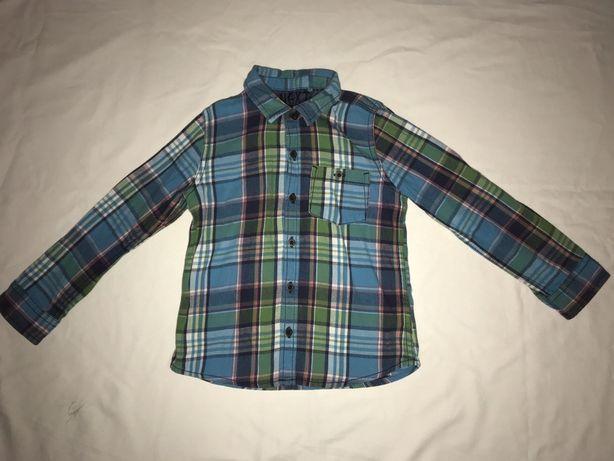 Рубашки Next, H&M на 4-5 лет